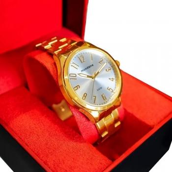 Relógio Mondaine FemininoAnalógico Original Barato À Prova D' Agua C/Garantia Ouro
