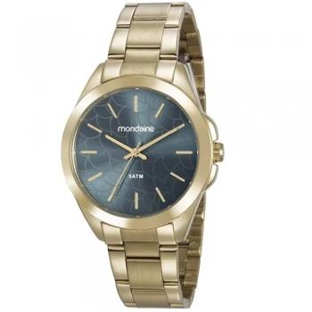 Relógio Mondaine Feminino Garantia Original a Prova D' Agua Ouro/Dourado