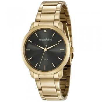 Relógio Mondaine Feminino Original Com Garantia A Prova D'Agua 53616lpmvde1 Ouro