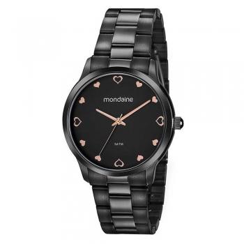 Relógio Mondaine Feminino Preto 32111lpmvpe2