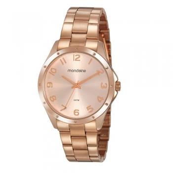 Relógio Mondaine Feminino Rose Gold Nf