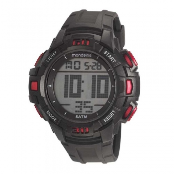 Relógio Mondaine Masculino 85006g0mvnp2 Digital A Prova D'Água Original