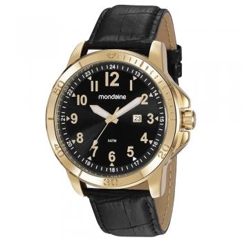 Relógio Mondaine Masculino Classic Dourado 99412gpmvdh2 Original