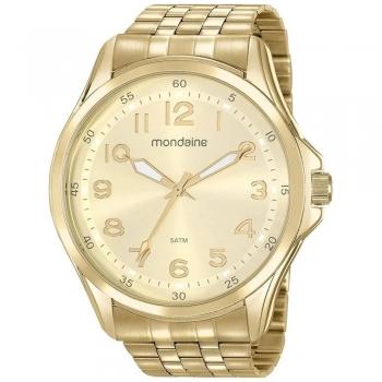 Relógio Mondaine Masculino Original A Prova D'Água Garantia Ouro