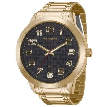 Relógio Mondaine Masculino Original Garantia 99143gpmvde4 Ouro