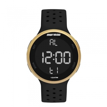 Relógio Mormaii Feminino Esportivo A Prova D'água Digital Garantia