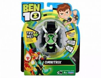 Relógio Omnitrix Básico Ben 10 Som Luz 40 Frases 1755 Sunny