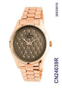 Relógio Rosê Champion Feminino CN24039R