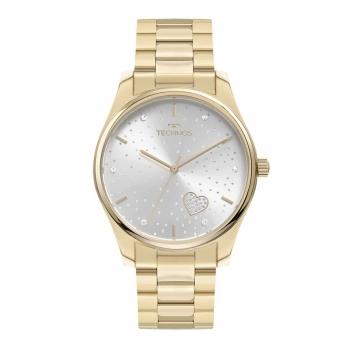 Relógio Technos Feminino Dourado Prova d'água 1 Ano Garantia Trend