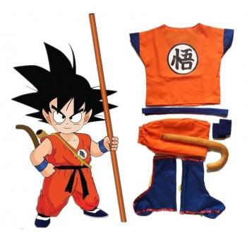 Roupa Fantasia Criança Goku Dragon Ball Z Dbz