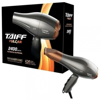 Secador Cabelos Taiff Vulcan Profissional 2400w - 127/220v
