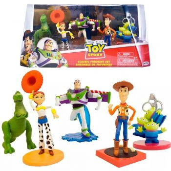 Set Toy Story Domo Completo 5 Figuras Original Disney Sunny
