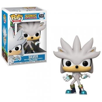 Sonic Hedgehog - Boneco Pop Funko Silver Sonic #633