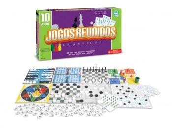 Super Jogos Reunidos 10 Em 1 - Nig