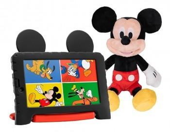 Tablet Infantil Multilaser Mickey Plus 16gb Com Pelúcia