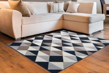 Tapete Quarto Sala Fácil Limpeza Moderno Prático 2,00 X 1,50