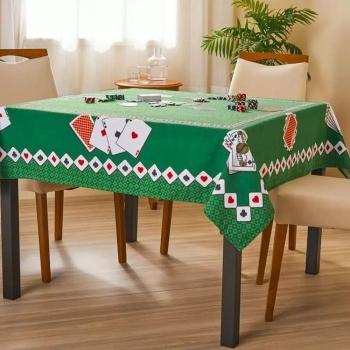 Toalha De Mesa Para Jogos Cartas Poker Truco Baralho - Lepper