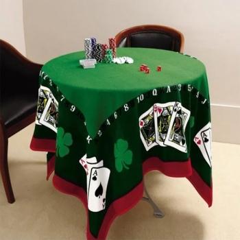 Toalha De Mesa Para Jogos Jocker Baralho Poker Lepper