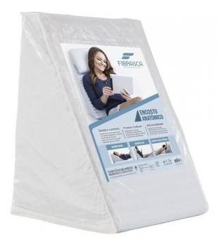 Travesseiro Anatômico Suave Conforto Com Capa - Fibrasca