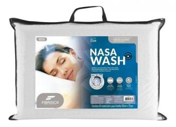 Travesseiro Nasa Alto Altura Regulável Lavável Wash Fibrasca