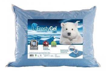 Travesseiro Nasa Frostygel Fibra Gelado 4345  - Fibrasca