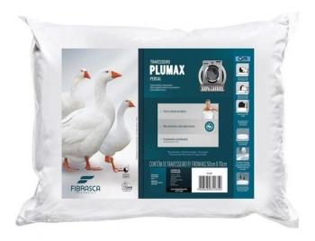 Travesseiro Toque De Pluma 70x50 Fibrasca Plumax Lavavel