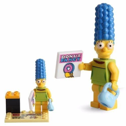 Marge Simpsons Lego Compatível Boneco