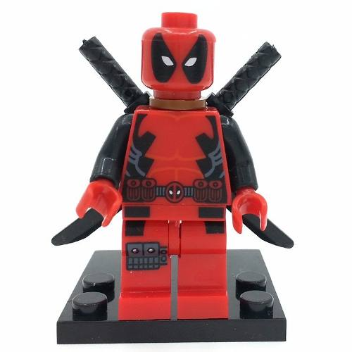 Bloco De Montar Lego Deadpool Marvel Novo