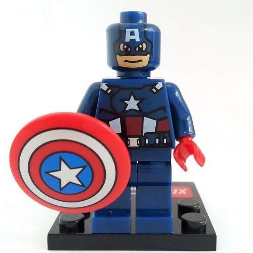 Bloco De Montar Lego Capitão América Avengers Vingadores