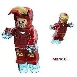 Homem De Ferro Iron Man Lego Avengers Vingadores