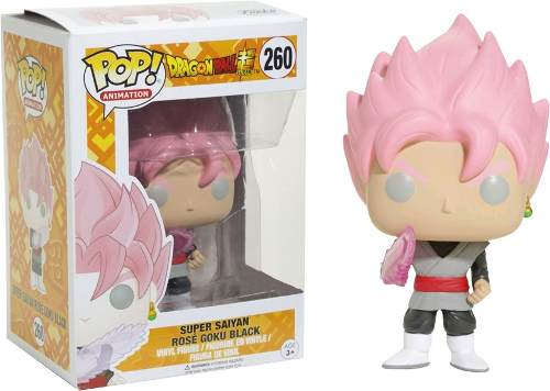 Funko Pop Dragon Ball Super Saiyan Rose Goku Black