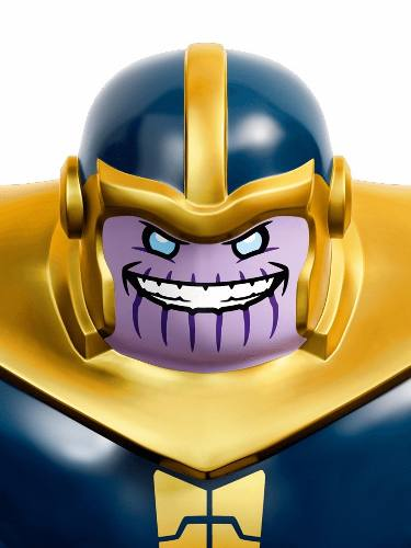 Boneco Lego Thanos Jóias Do Infinito Guerra Infinita Big
