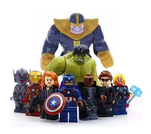 Kit Lego Vingadores Marvel Guerra Infinita + Thanos Jóias Do