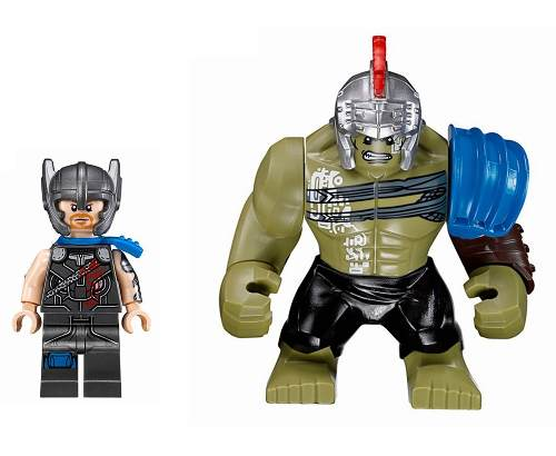 Kit Lego Thor Ragnarok Vs Big Hulk