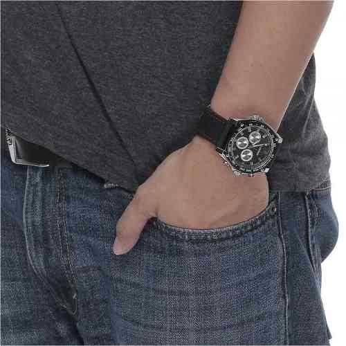 Relógio Curren Masculino Analógico Quartz Res Água 8146