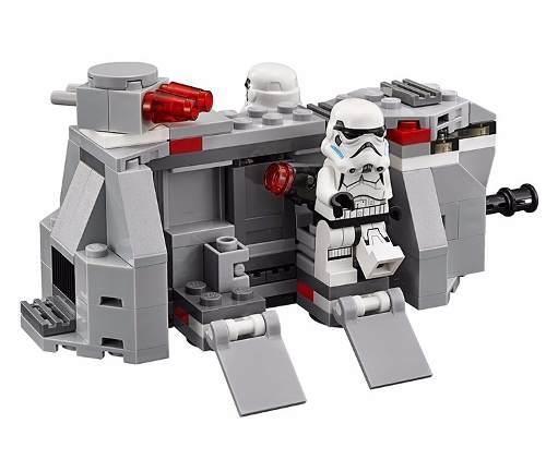 Bonecos Lego Star Wars Clone Stormtrooper Nave - 141 Peças