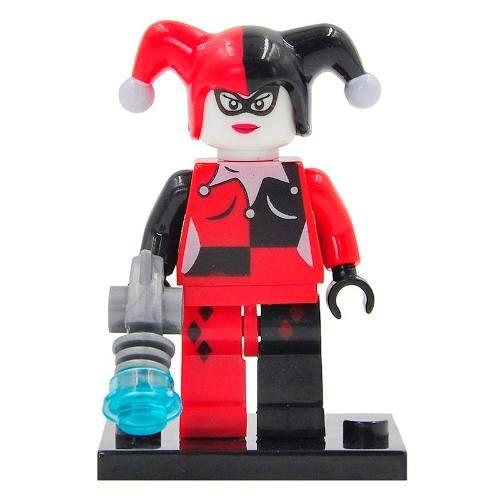 Bloco Montar Lego Arlequina Harley Quinn Esquadrão Suicida