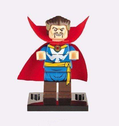 Boneco Lego Doutor Estranho Stephen Vincent Strang Marvel