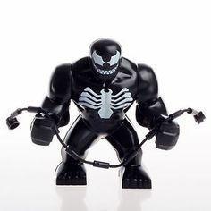 Big Venom Homem Aranha Spiderman Lego Compatível Cod Big06