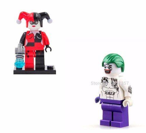 Lego Arlequina + Coringa Esquadrão Suicida