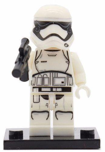Boneco Minifigure Star Wars New Stormtrooper Compatível Lego
