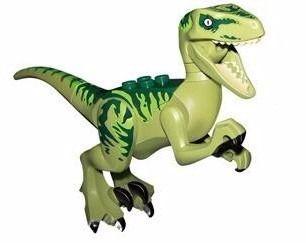 3 Boneco Lego Dinossauros Jurassic World Park Minifigures
