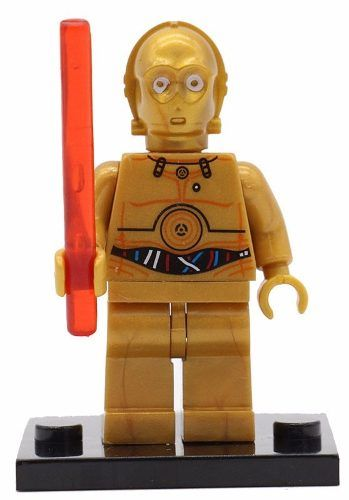 Boneco Minifigure Lego Star Wars C3po #2