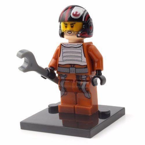 Boneco Lego Star Wars Poe Dameron Da Resistencia #13