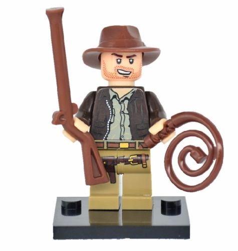 Lego Minifigura Boneco Indiana Jones