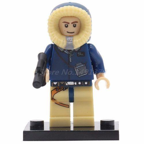 Boneco Lego Star Wars Han Solo (hoth) #26
