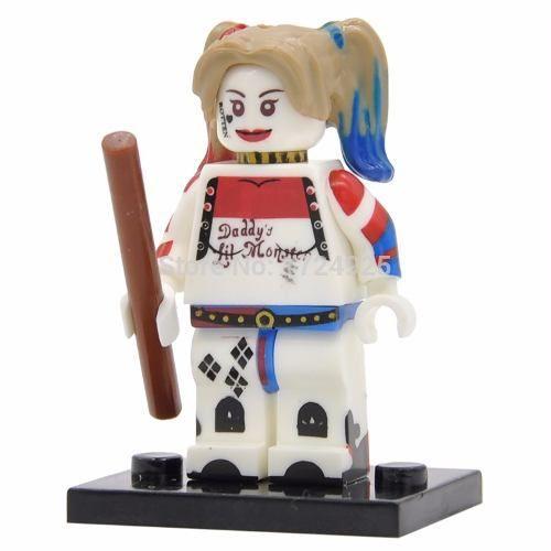 Bloco Lego Arlequina Harley Quinn Esquadrão Suicida Filme