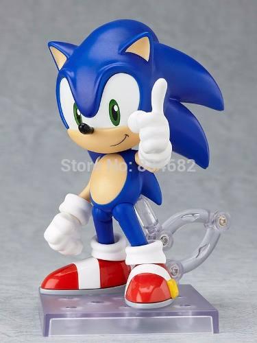 Sonic- The Hedgehod- 11 Cm- Envio Do Brasil- Novo/lacrado