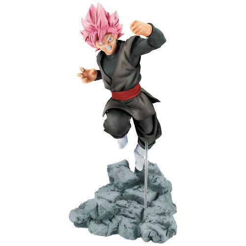 Boneco Goku Black Super Saiyajin Rose Dragon Ball Super