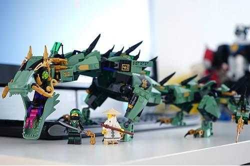 Dragão Ninja Verde Mech Dragon Ninjago 70612 Bloco Lego